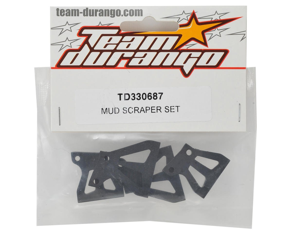 Team Durango Mud Scraper Set
