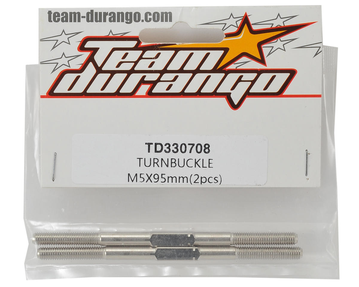 Team Durango 5x89mm Turnbuckle (2)