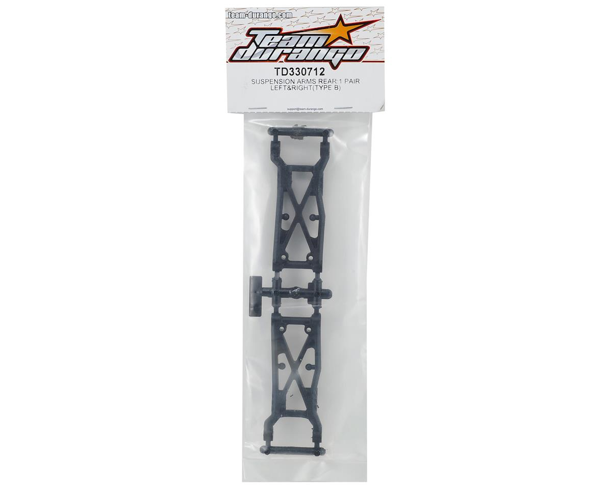 Team Durango Rear Suspension Arms Type B