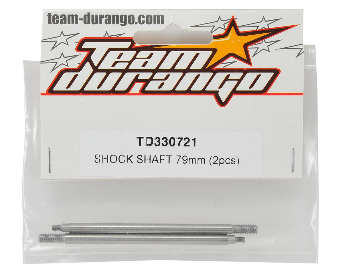 Team Durango 79mm Rear Shock Shaft (2)