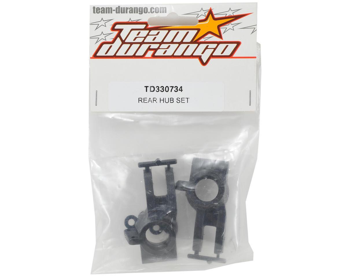 Team Durango Rear Hub Set