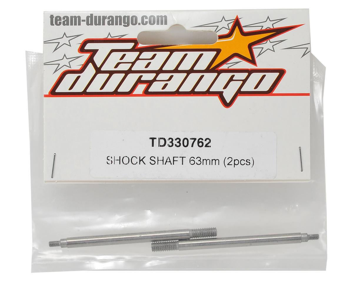 Team Durango 63mm Rear Shock Shaft (2)