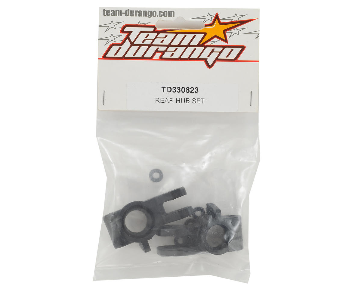 Team Durango Rear Hub Set