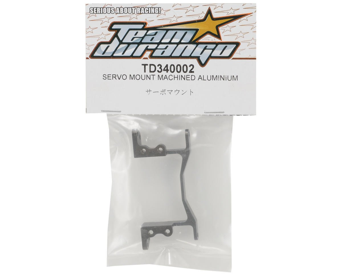 Team Durango Machined Aluminum Servo Mount