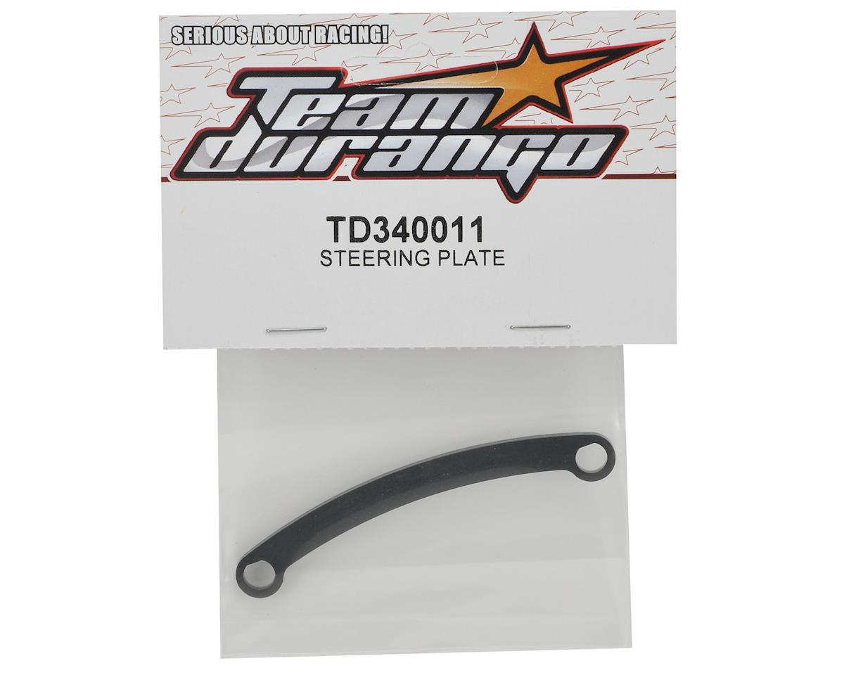 Team Durango Steering Plate