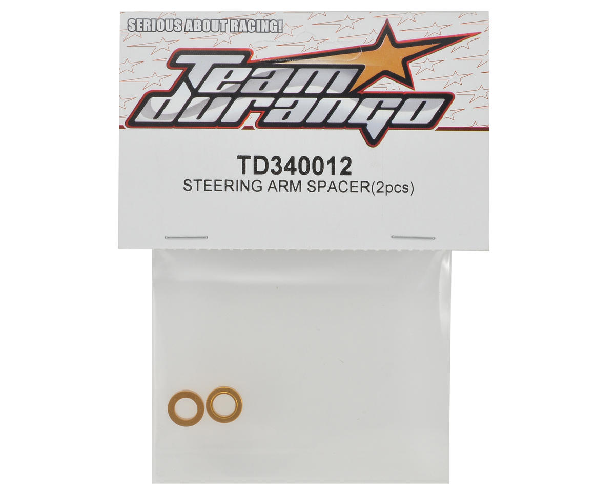 Team Durango Steering Arm Spacer Set (2)