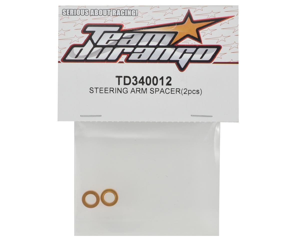 Team Durango Steering Arm Spacer Set (2)