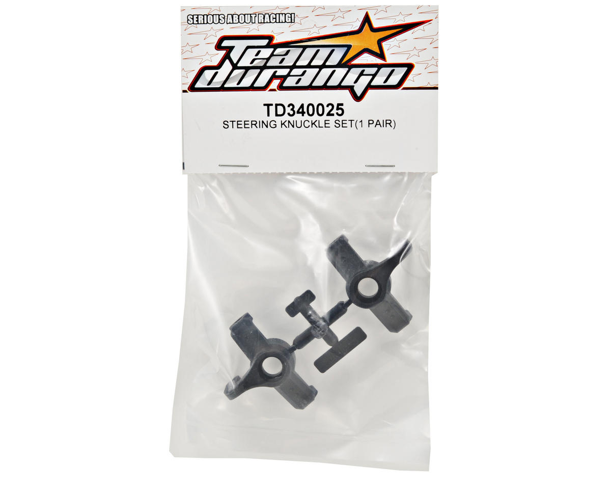 Team Durango Steering Knuckle Set (2)