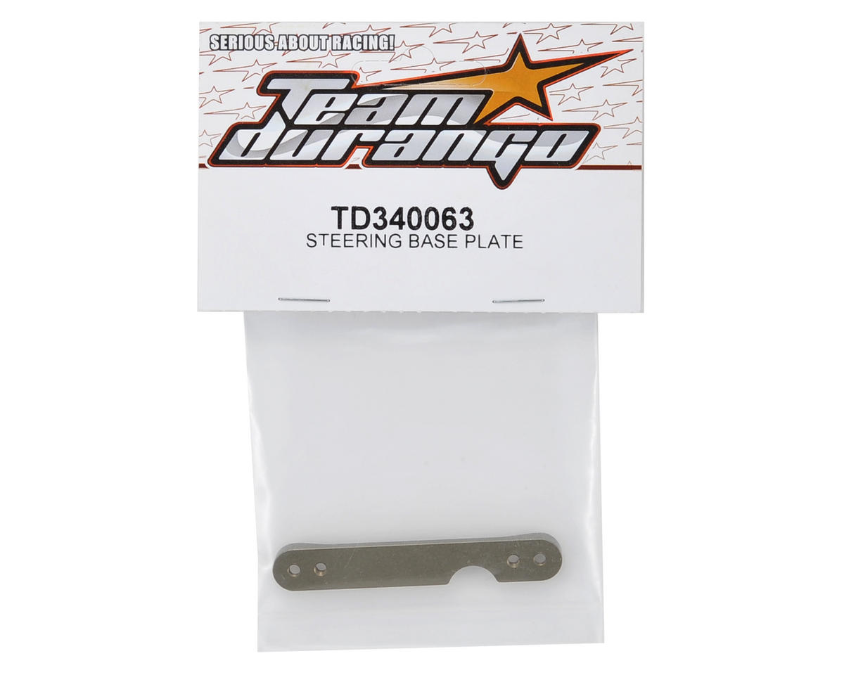 Team Durango Steering Base Plate