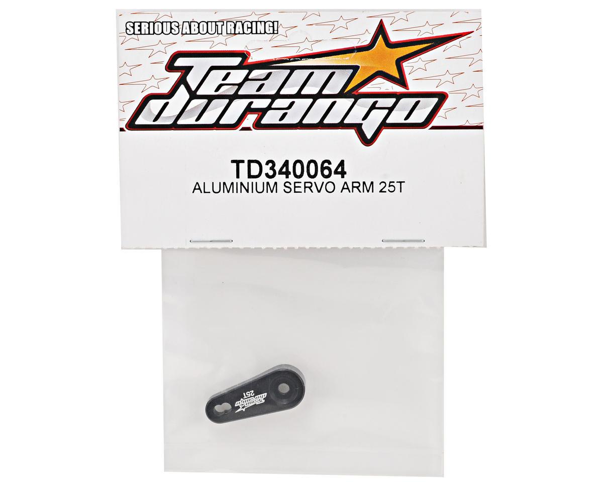 Team Durango Aluminum Servo Arm (25T-Futaba, Savox, ACE)