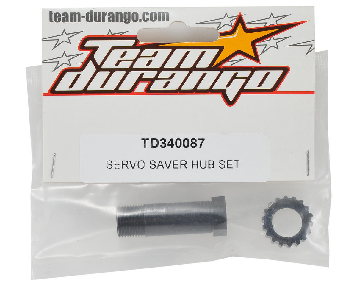 Team Durango Servo Saver Hub Set
