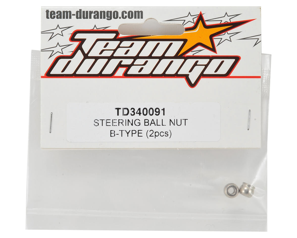 Team Durango Type B Steering Ball Nut (2)