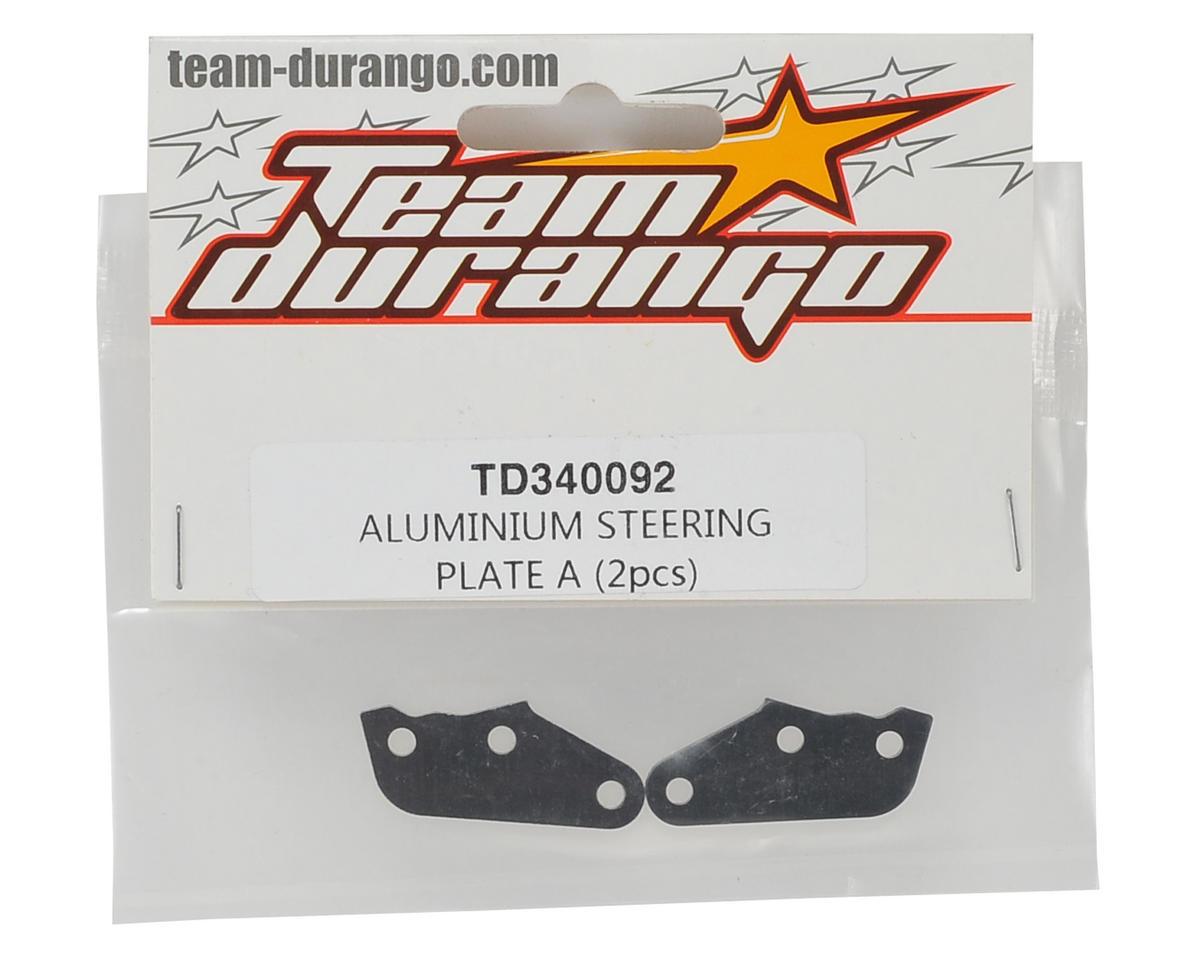 Team Durango Aluminum Steering Plate A (2)