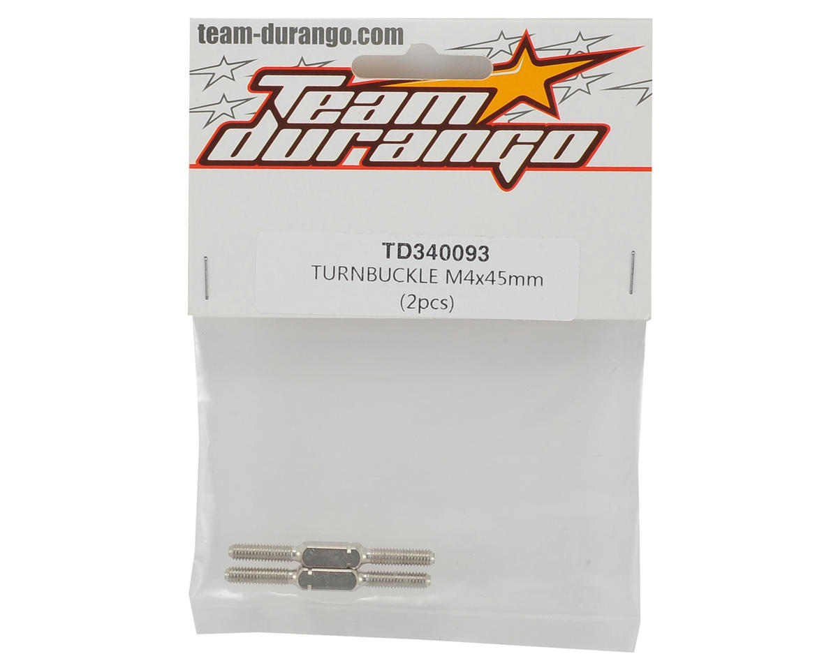 Team Durango 4x45mm Turnbuckle (2)