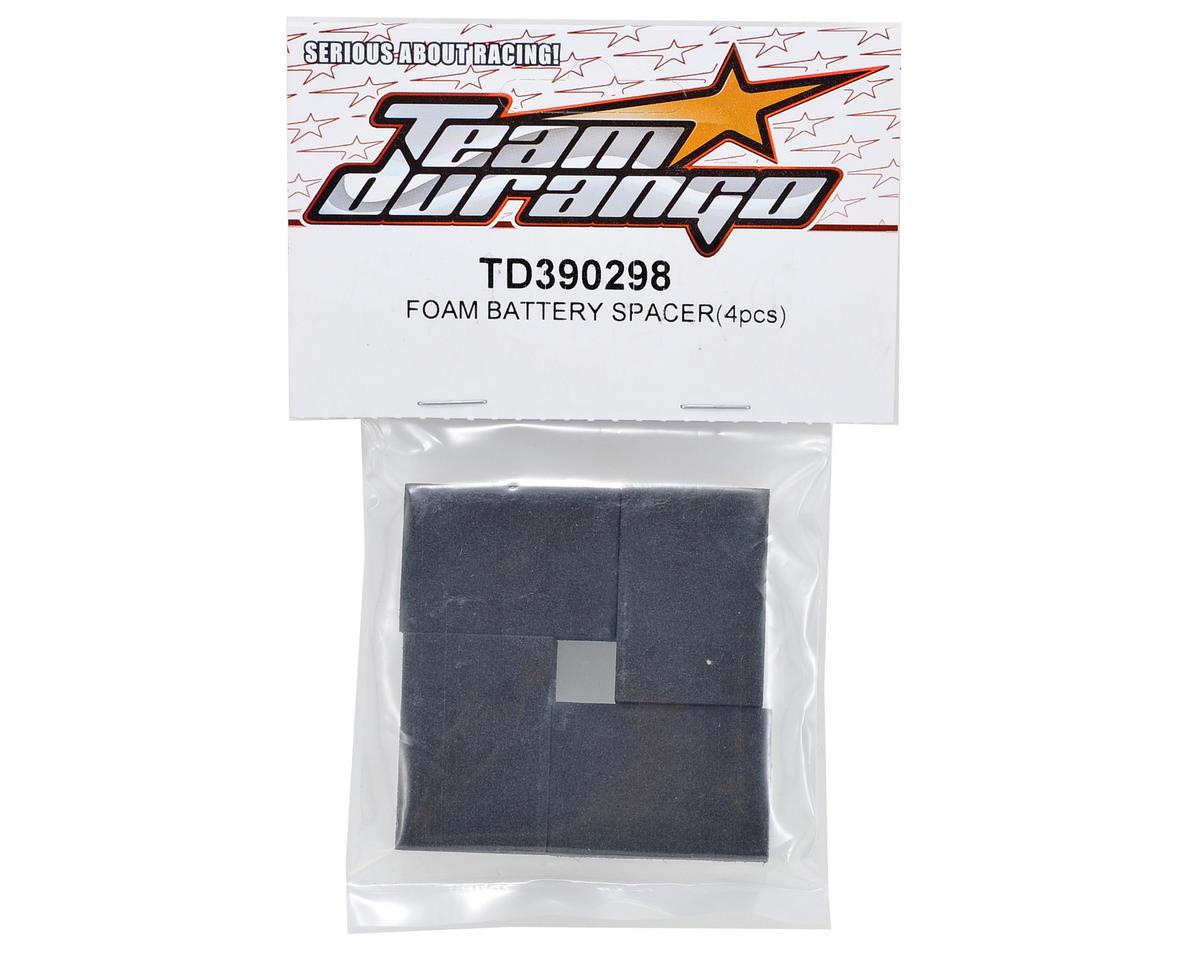 Team Durango Battery Spacer Foam (4)