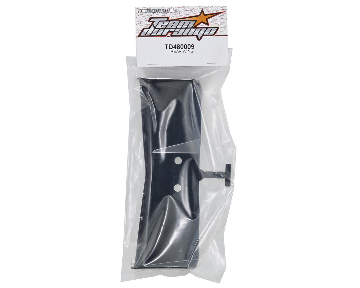 Team Durango Rear Wing (Black)