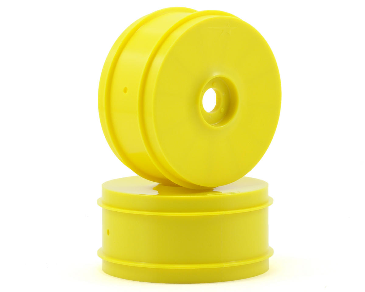 Team Durango 1/8 Buggy Wheel (2) (Yellow)