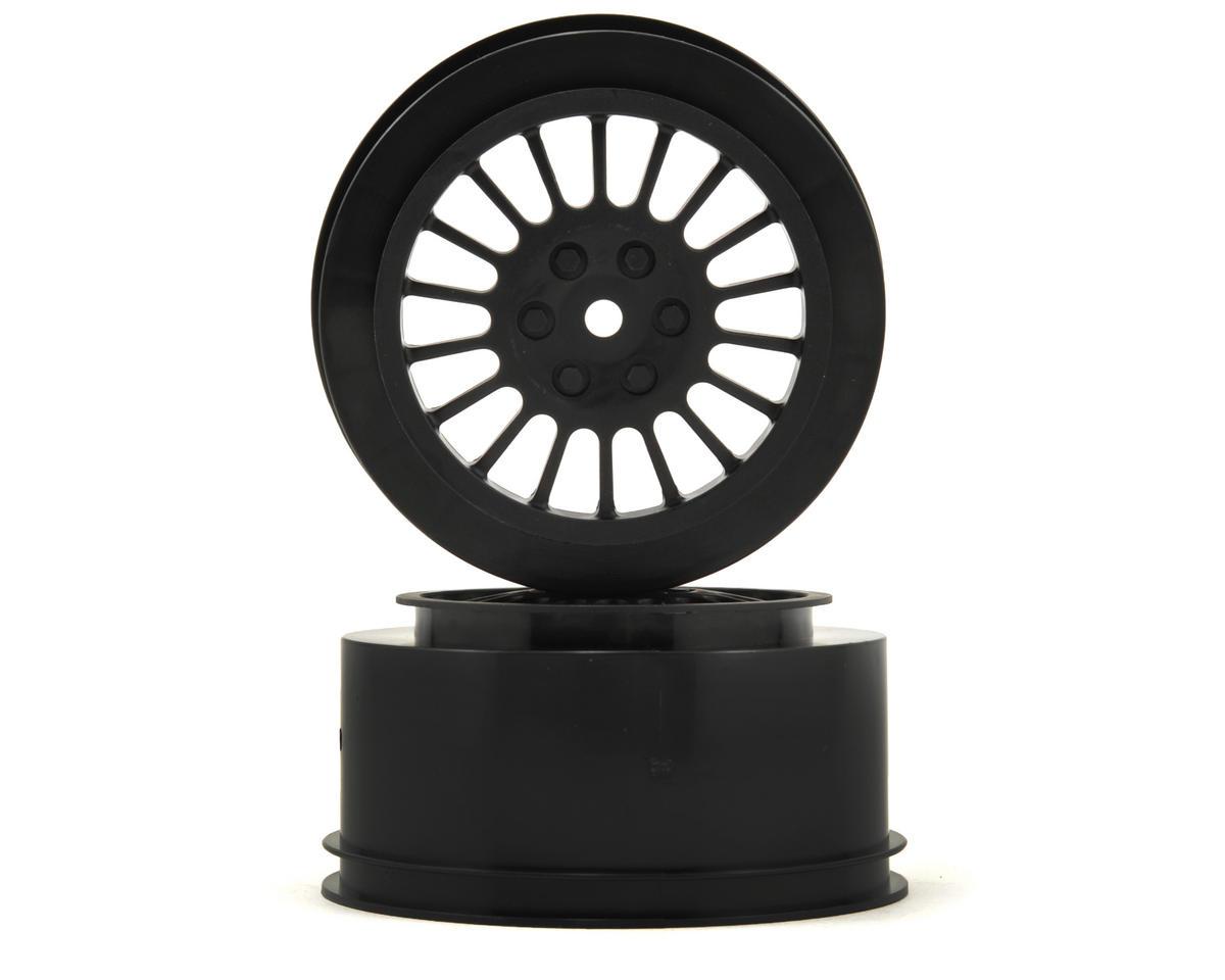 15mm Hex Short Course Wheels (Black) (2) (DESC210/410) by Team Durango
