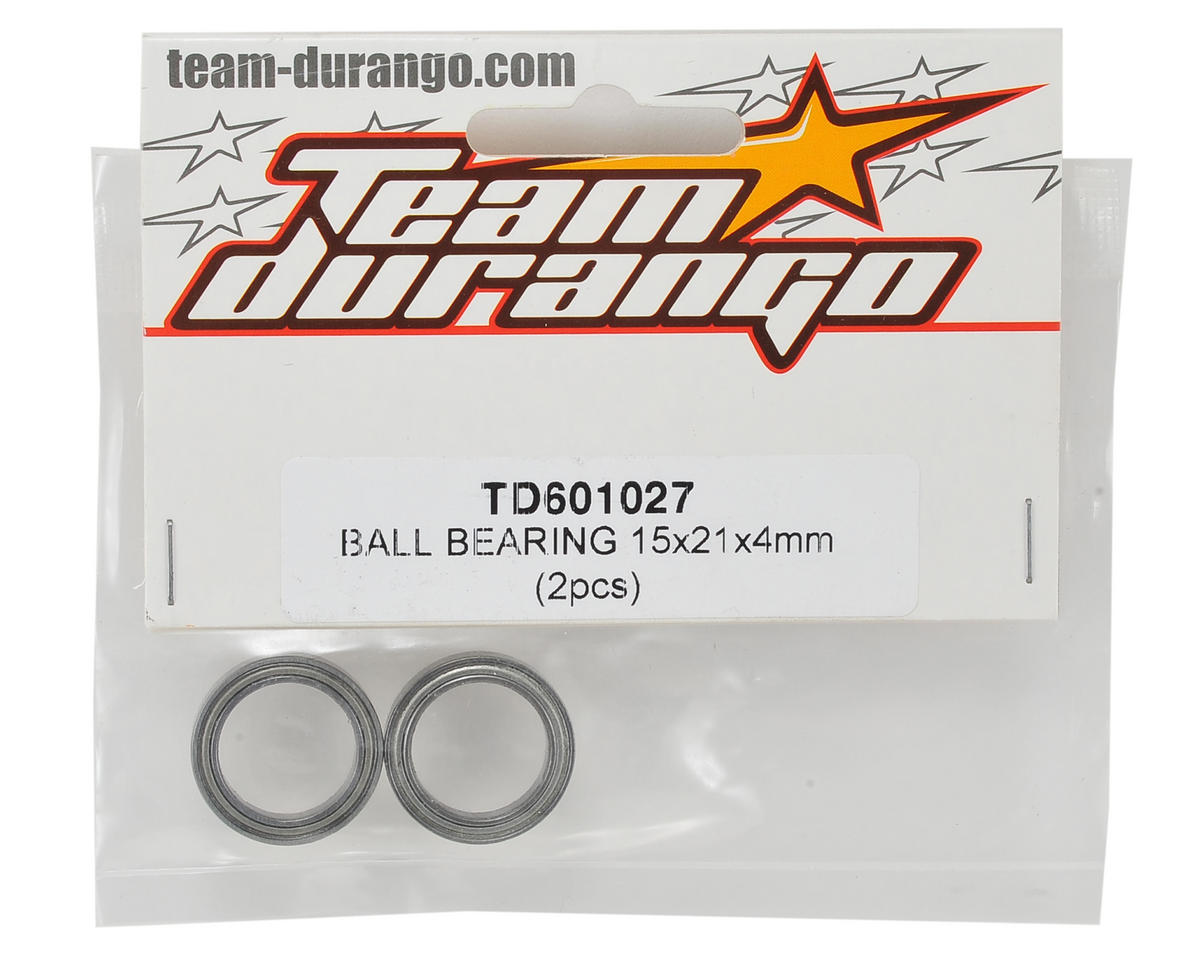 Team Durango 15x21x4mm Ball Bearing (2)