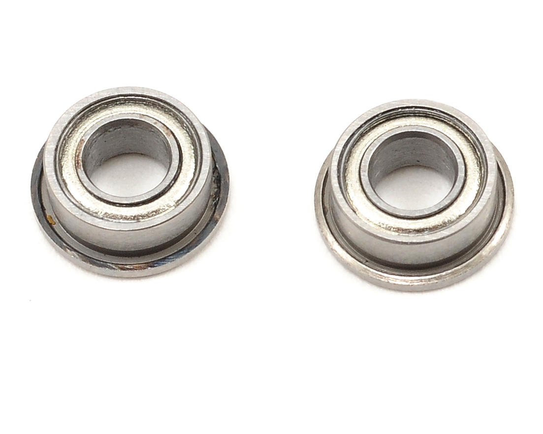 Team Durango 3x6x2.5mm Flanged Ball Bearing Set (2)