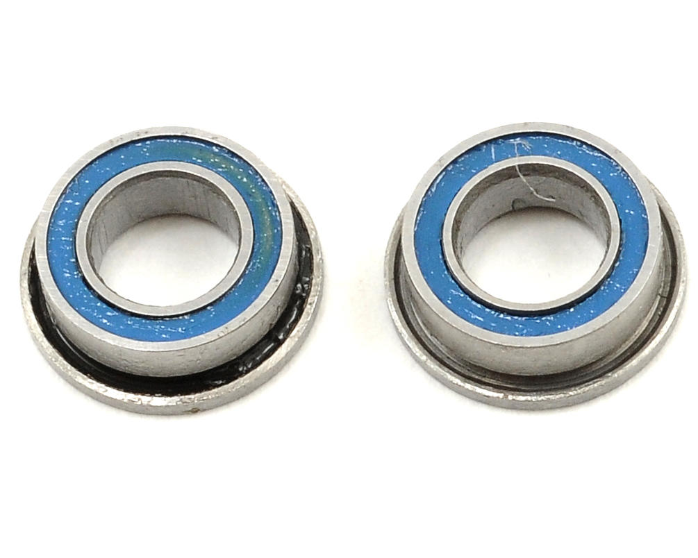 Team Durango 4x7x2.5mm Flanged Ball Bearing Set (2)