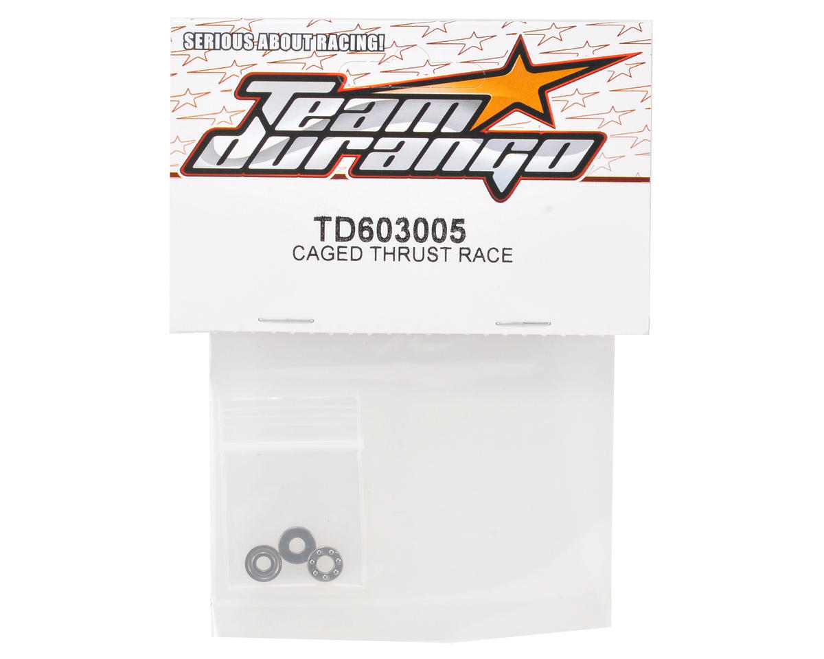 Team Durango Caged Race Thrust Bearing