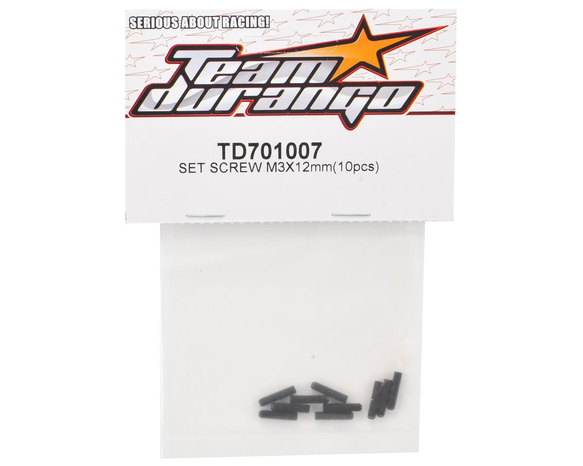 Team Durango 3x12mm Set Screw (10)
