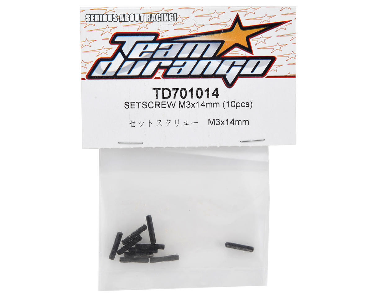 Team Durango 3x14mm Set Screw (10)