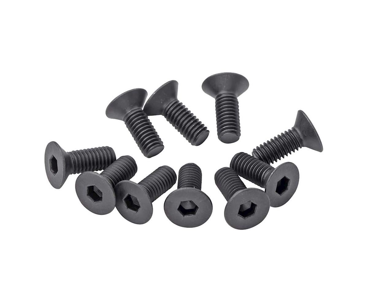 Team Durango 3x8mm Flat Head Hex Screw Set (10)