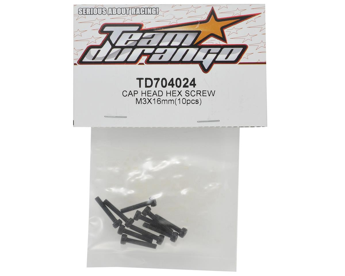 Team Durango 3x16mm Cap Head Screw Set (10)