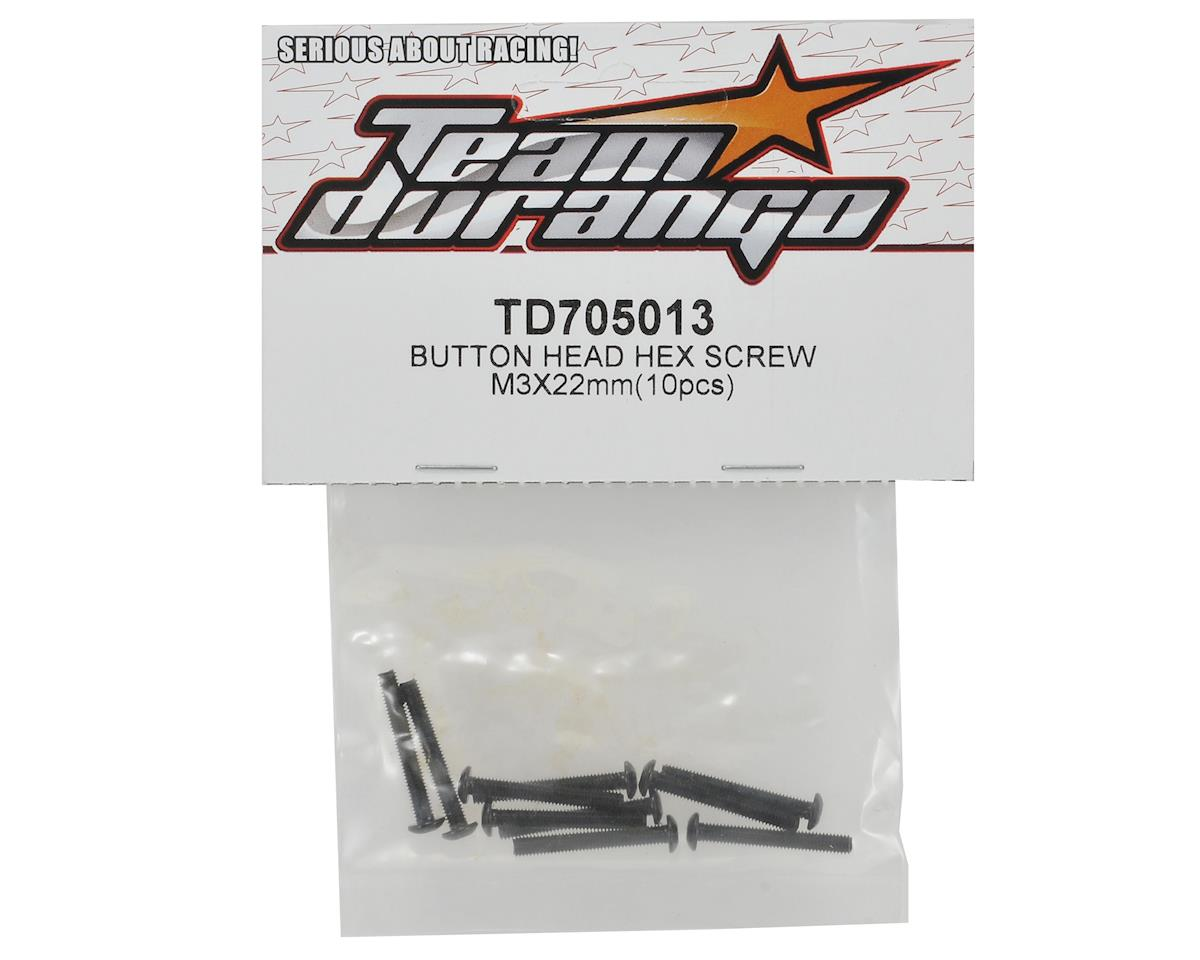 Team Durango 3x22mm Button Head Screw Set (10)