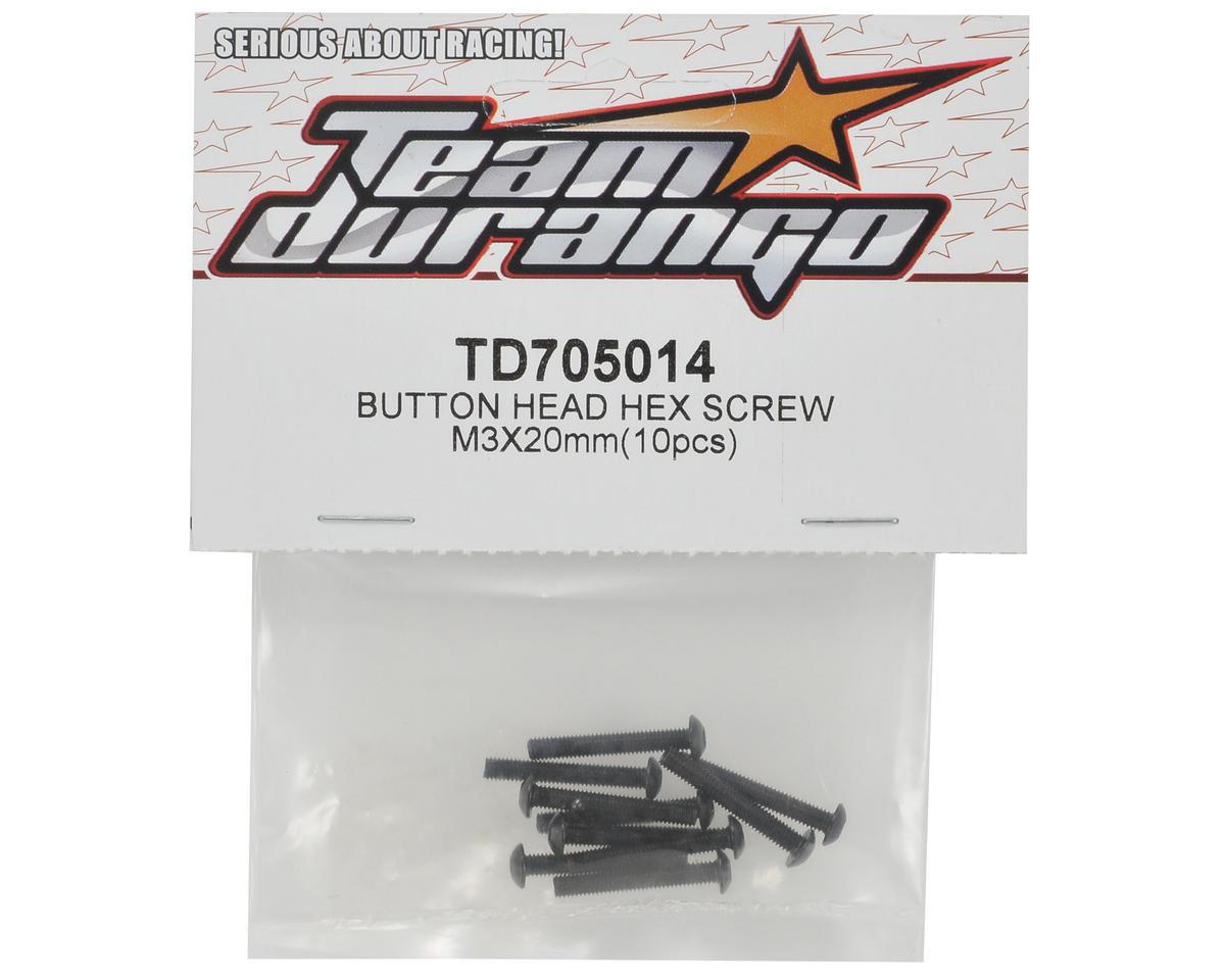 Team Durango 3x20mm Button Head Screw Set (10)
