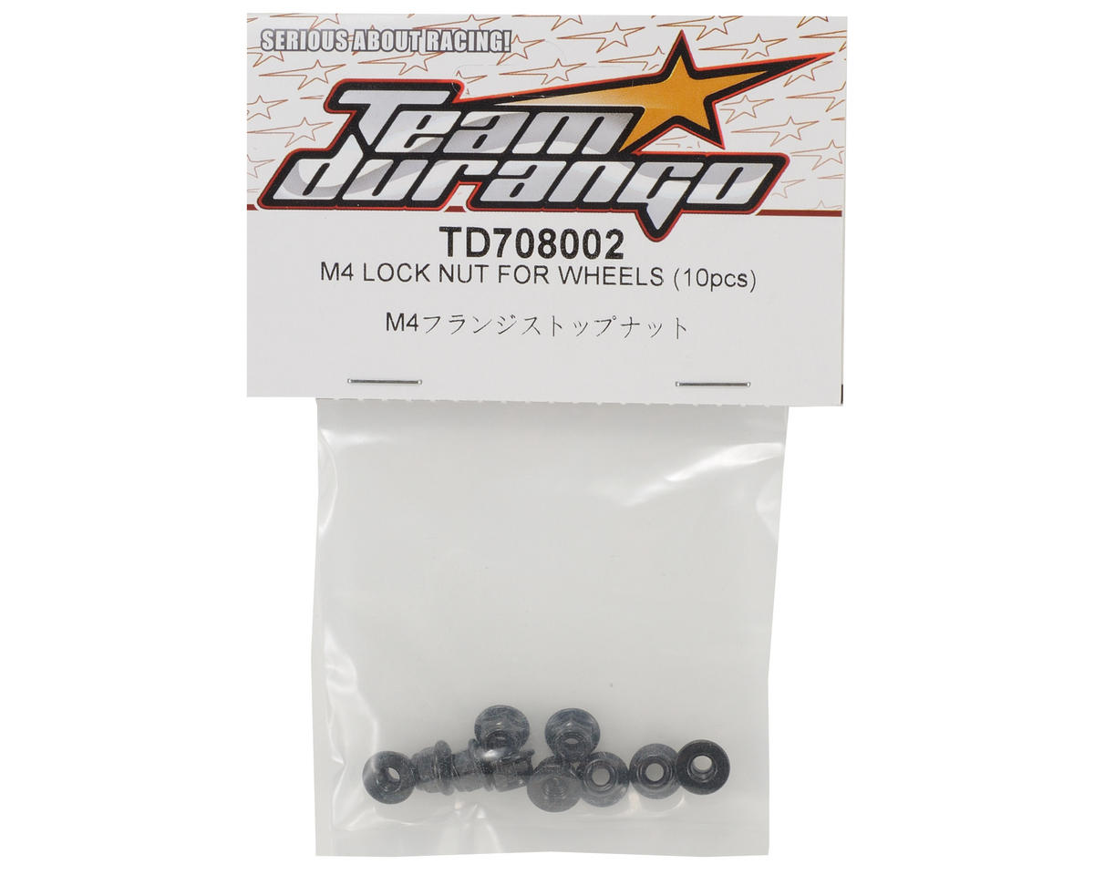 Team Durango 4mm Wheel Nut Set (10)