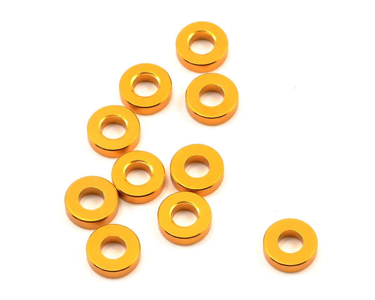 Team Durango 7x3.3x2mm Shock Travel Spacer Set (10)