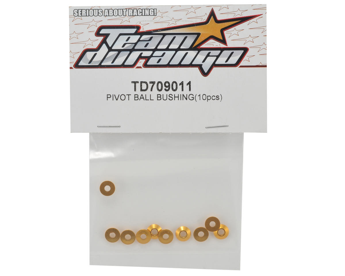 Team Durango Pivot Ball Bushing Set (10)