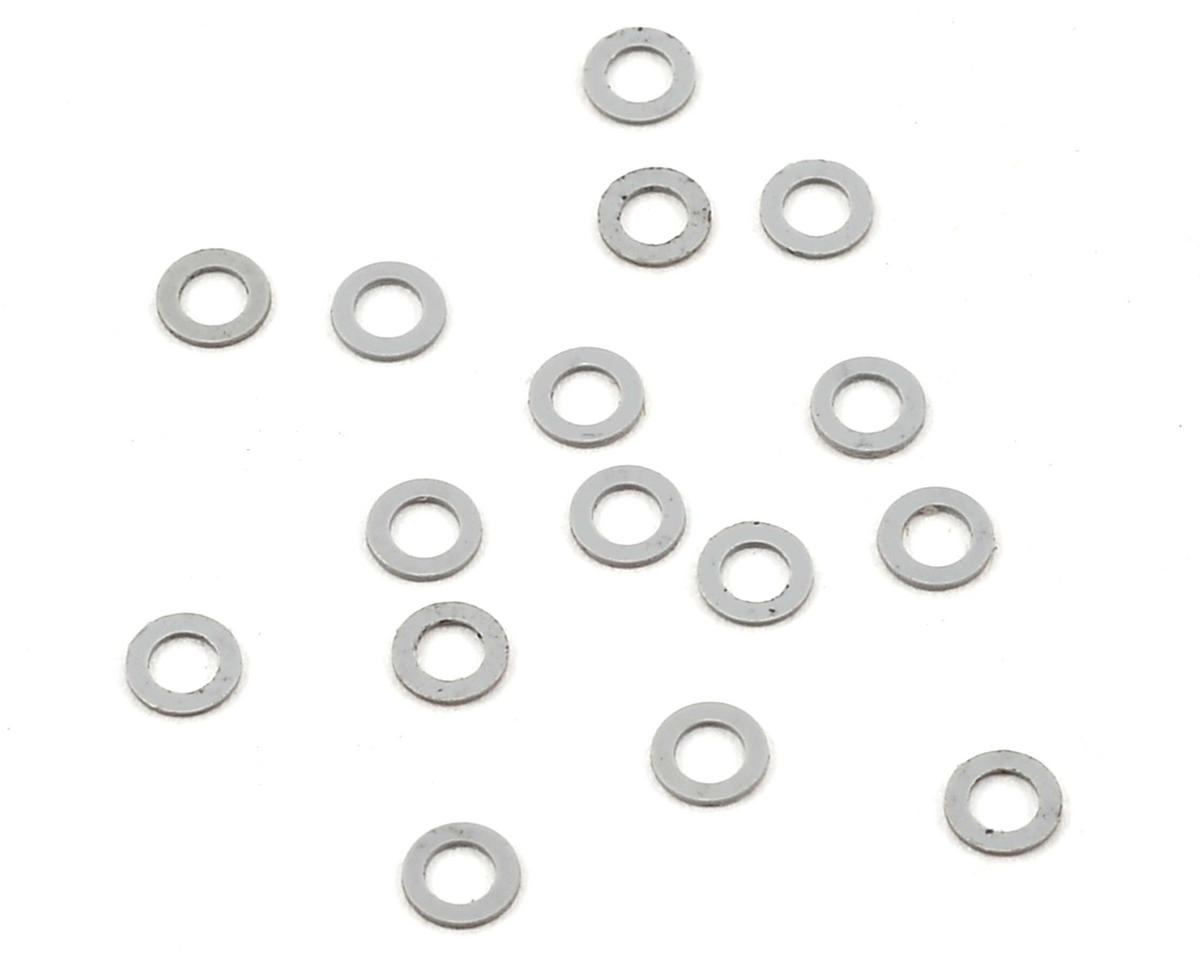 Team Durango 2.1x3.5x.2mm PVC Washer (Grey) (16)