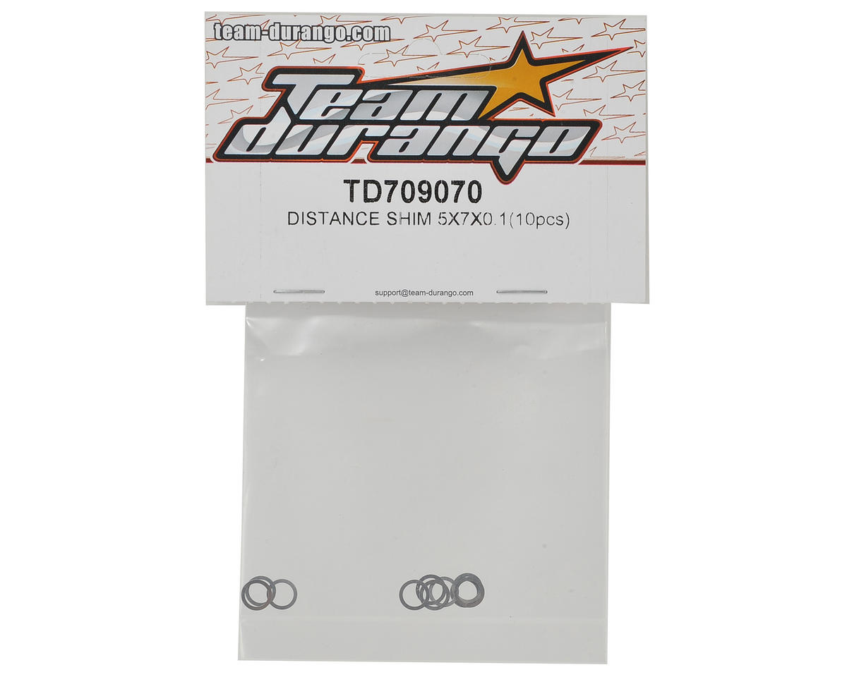 Team Durango 5x7x.1mm Distance Shim (10)