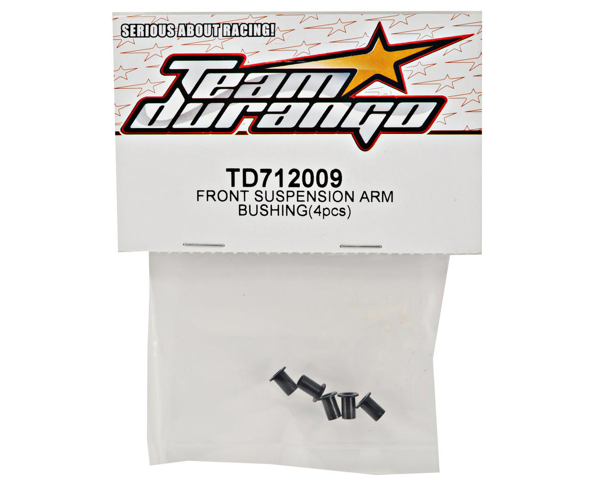 Team Durango Front Suspension Arm Bushing Set (4)
