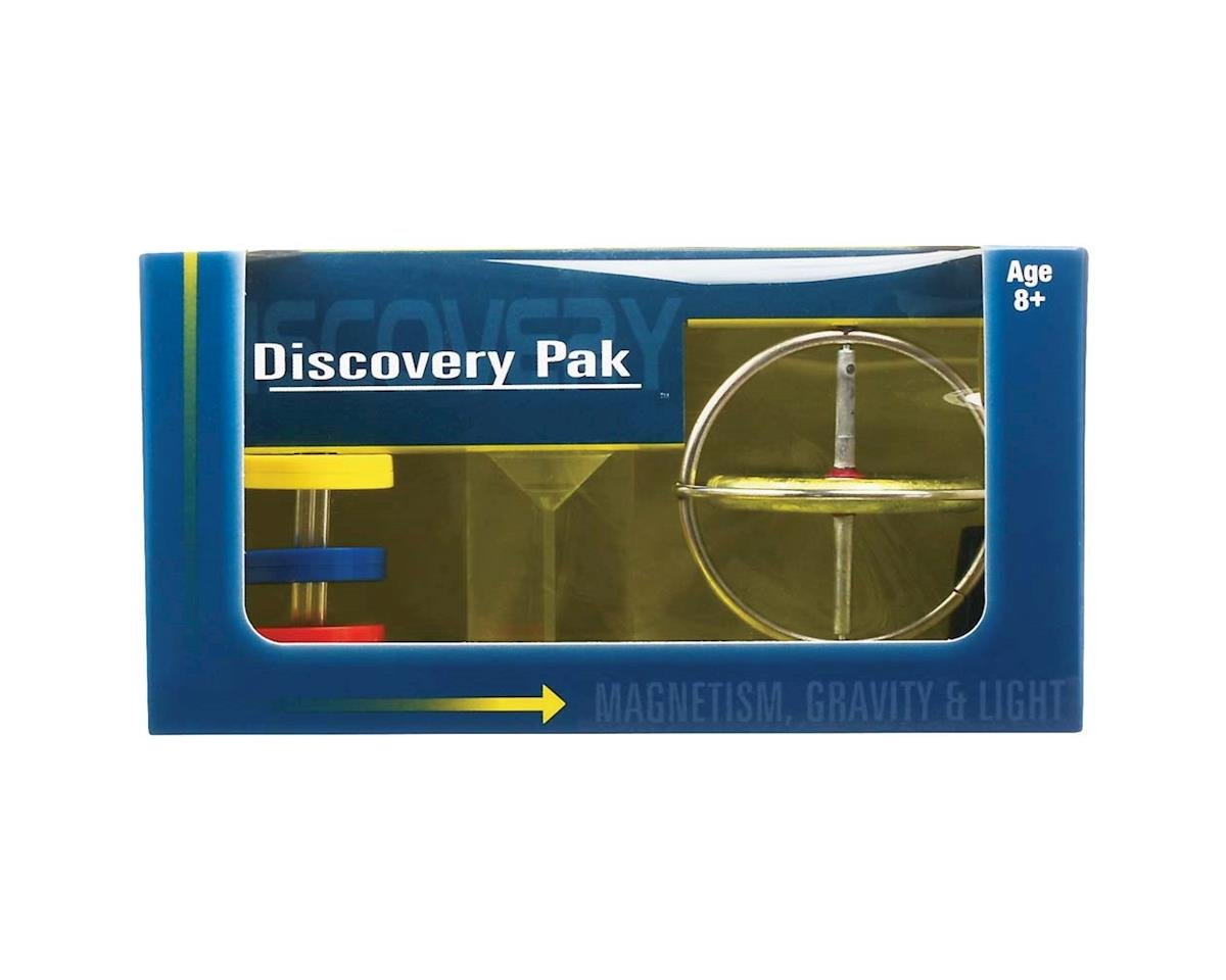 01200 Discovery Pak/Gyroscope/Prism/Magnets by Tedco