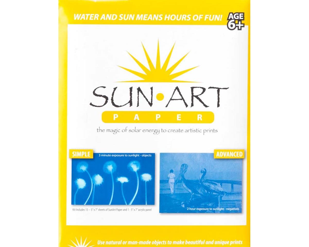 "Tedco 88051 SunArt Paper Kit 5x7"""