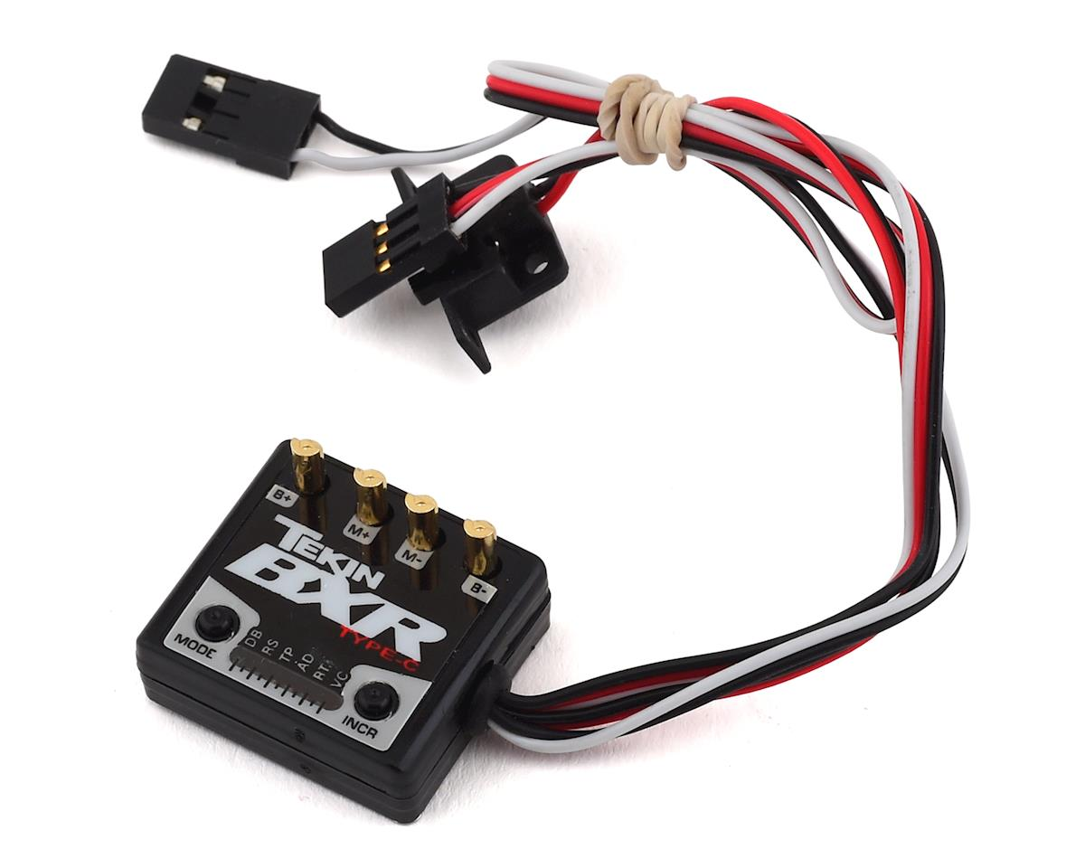 Tekin BXR Waterproof Brushed Motor Crawler ESC