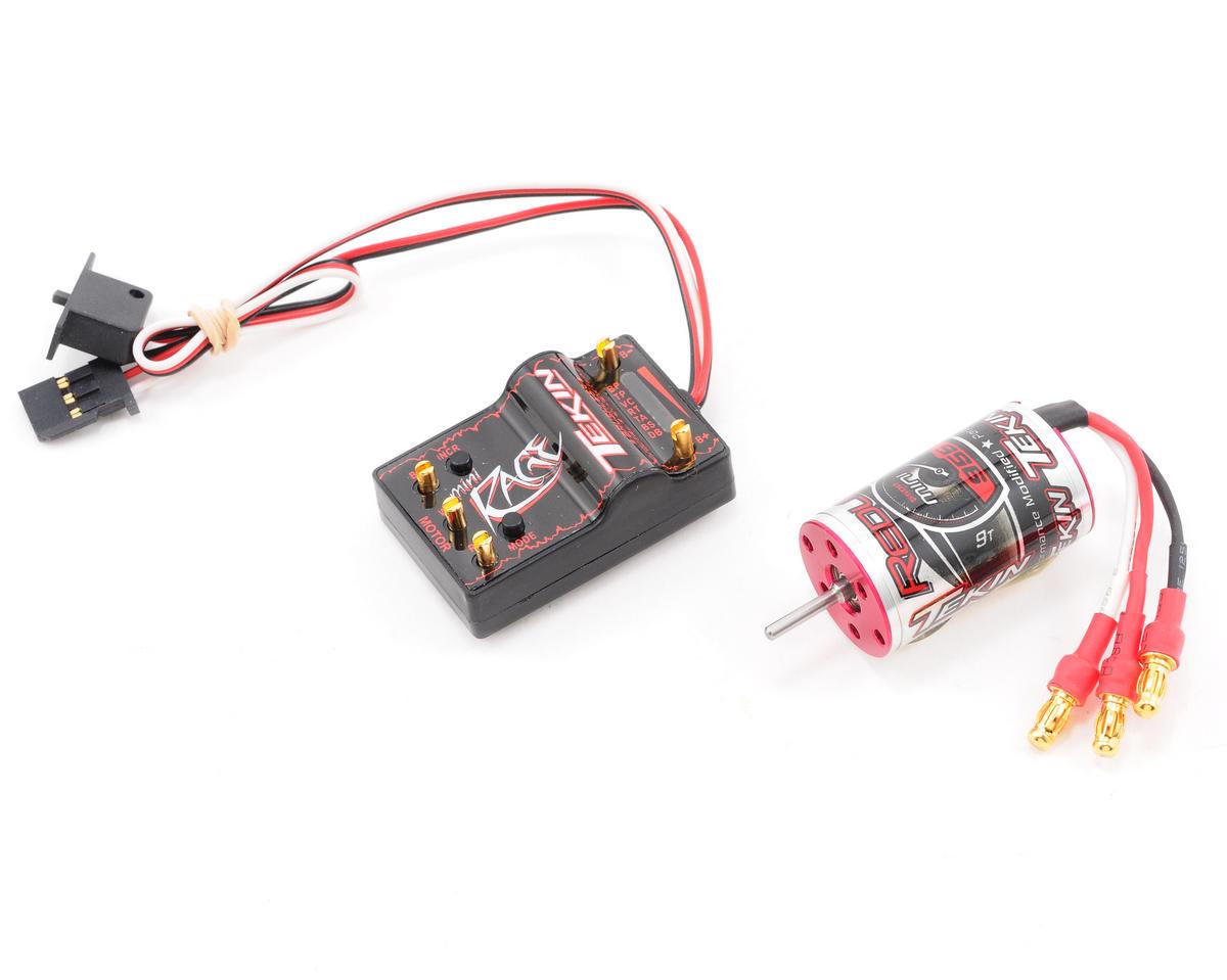 Tekin Mini Rage Performance 1 18 Brushless Motor Esc Combo