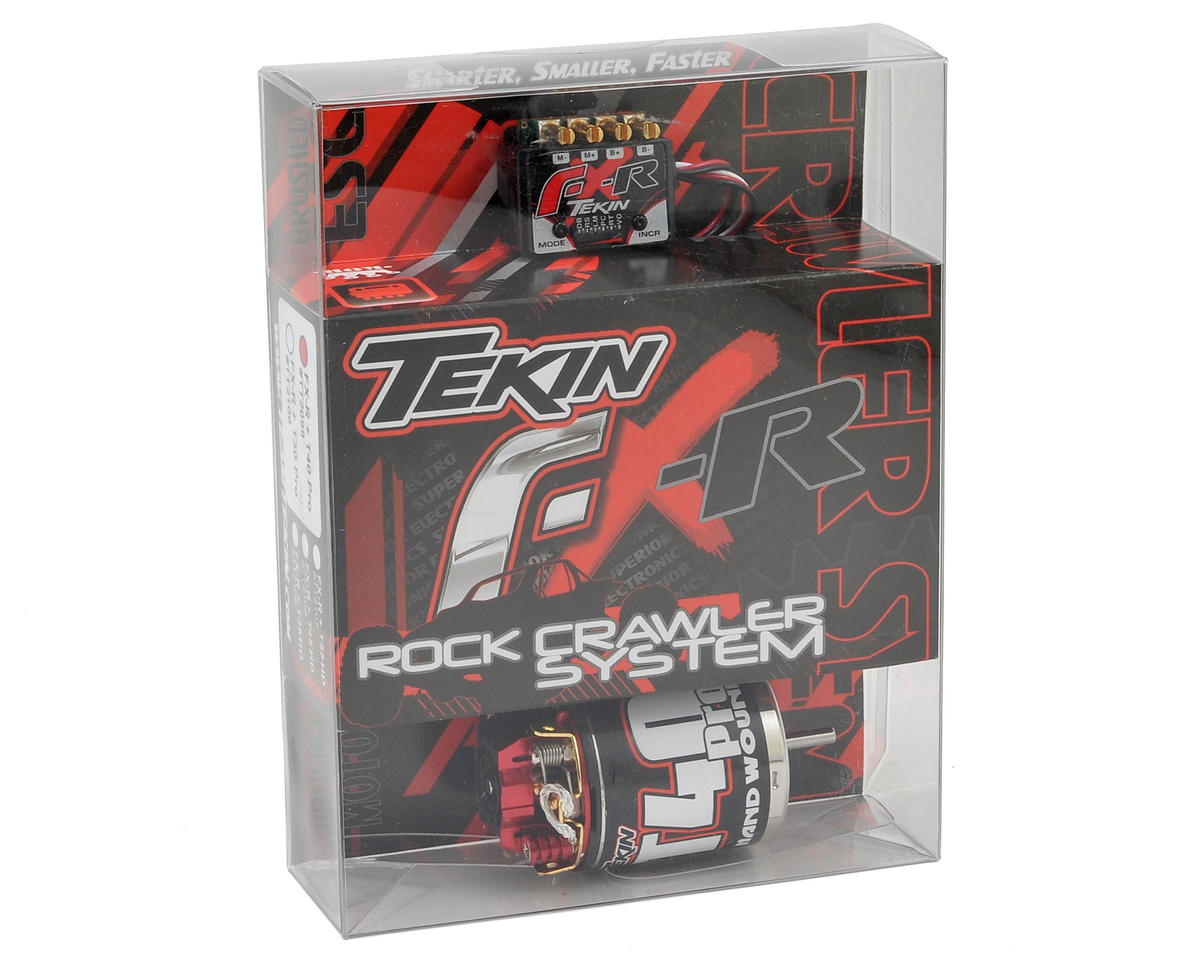Tekin FXR ESC/Pro Motor Rock Crawling Combo (40T)
