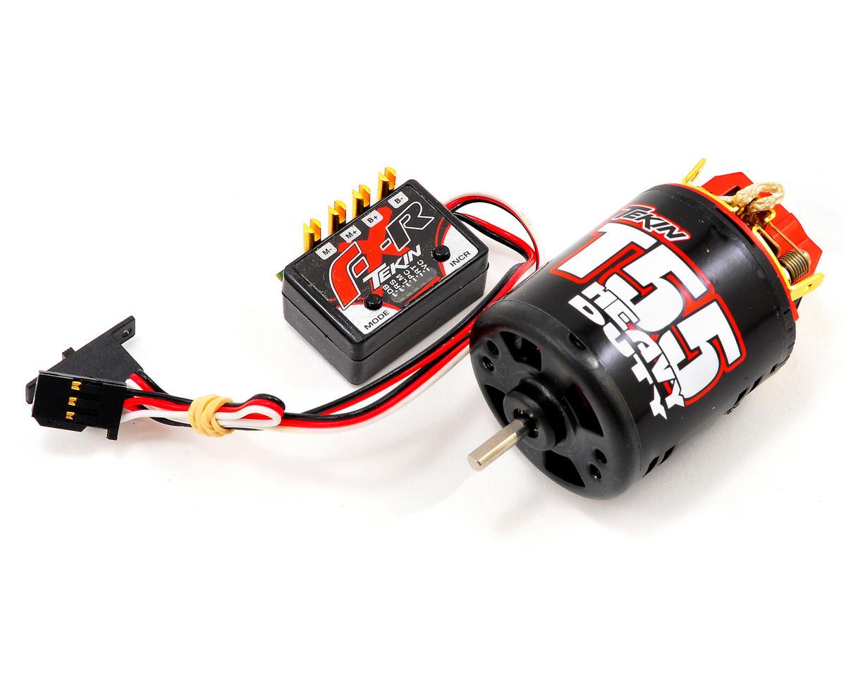 Tekin FX-R Rock Crawling ESC/Motor Combo w/55T HD Motor