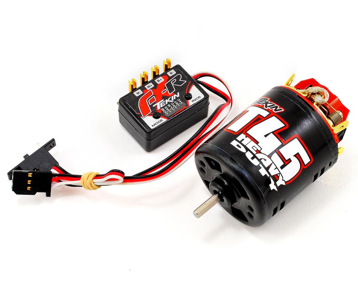 Tekin FX-R Rock Crawling ESC/Motor Combo w/45T HD Motor