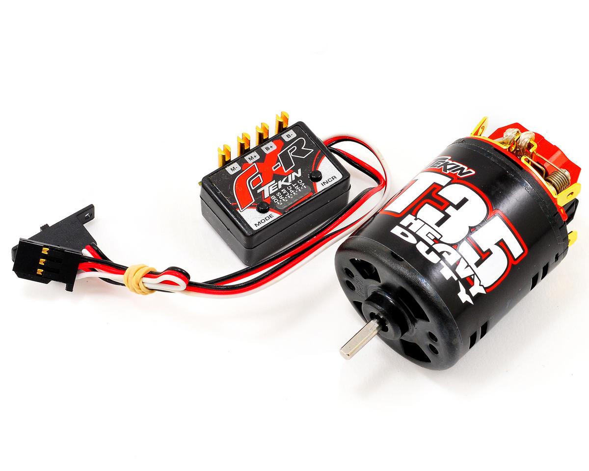 FX-R Rock Crawling ESC/Motor Combo w/35T HD Motor by Tekin