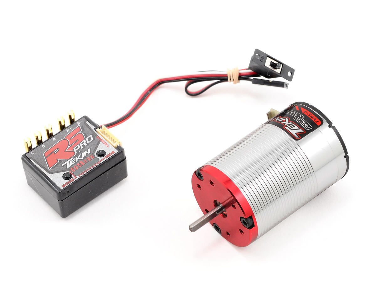 Tekin rs pro sensored brushless esc motor combo 6 5t for 10 5 t brushless motor