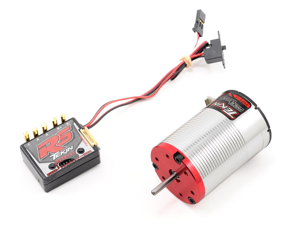 Tekin RS Sensored Brushless ESC/Motor Combo (10.5T)