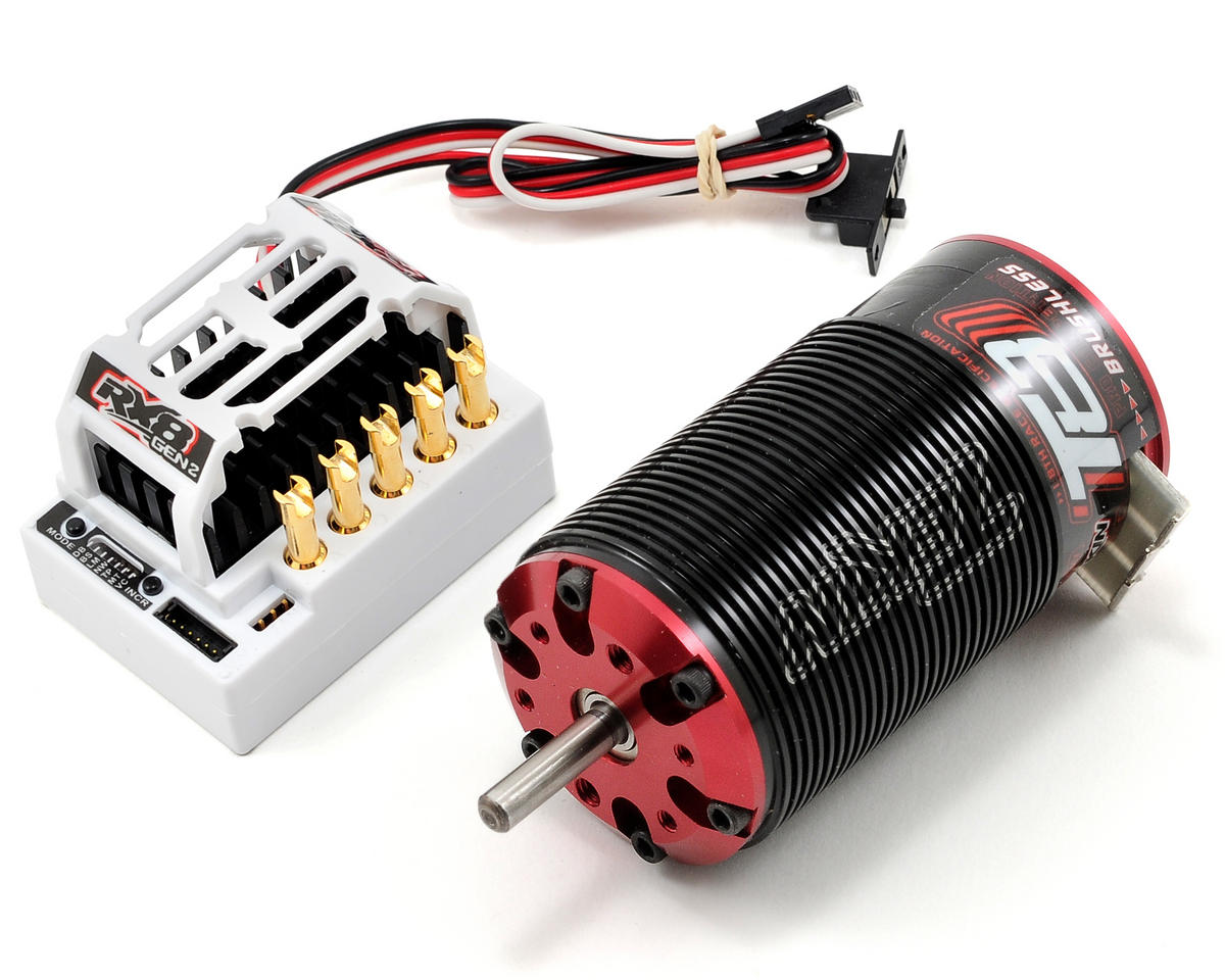 Tekin RX8 GEN2/Redline T8 1/8th Scale Truggy Brushless ESC/Motor Combo (1350kV)