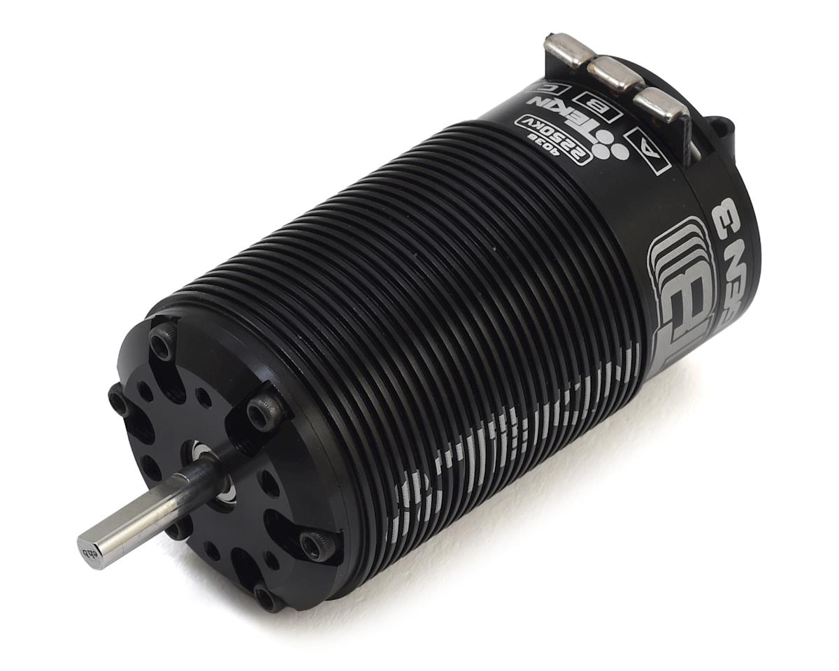 Tekin Redline T8 GEN3 4038 1/8 Truggy Competition Brushless Motor (2250kV)